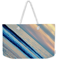 Weekender Tote Bag featuring the photograph Santa Monica Sunset by Kyle Hanson
