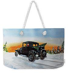 Santas Helper  161207 Weekender Tote Bag by Jack G Brauer