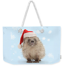 Santa's Prickly Pal Weekender Tote Bag