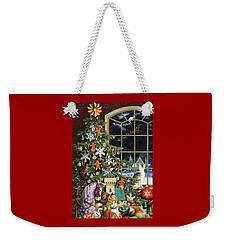 Santa's Visit Weekender Tote Bag