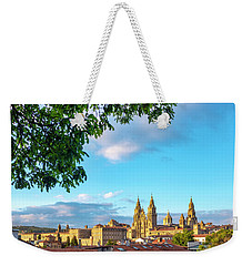 Weekender Tote Bag featuring the photograph Santiago De Compostela Cathedral by Fabrizio Troiani