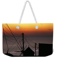 Santorini Weekender Tote Bag by David Gilbert