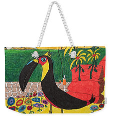 Santorini-esque Weekender Tote Bag