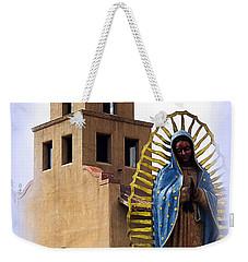 Weekender Tote Bag featuring the photograph Santuario De Guadalupe Santa Fe New Mexico by Kurt Van Wagner