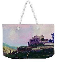 Santuario Virgen De La Pena Weekender Tote Bag