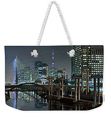 Sao Paulo Bridges - 3 Generations Together Weekender Tote Bag