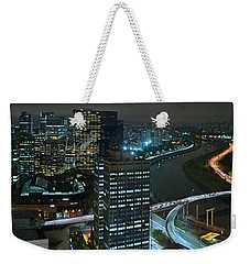 Sao Paulo Skyline Modern Corporate Districts Brooklin Morumbi Chacara Santo Antonio Weekender Tote Bag