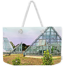 Weekender Tote Bag featuring the photograph Saolariums At San Antonio Botanical Gardens by James Fannin