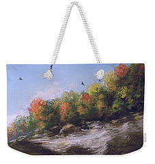 Soaring Over The North Rim, Autumn Weekender Tote Bag