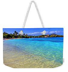 Sapphire Glow Weekender Tote Bag