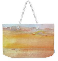 Sapphire Sunrise Autumn Weekender Tote Bag