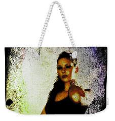 Weekender Tote Bag featuring the digital art Sarah 1 by Mark Baranowski