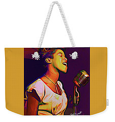 Sarah Vaughn Weekender Tote Bag