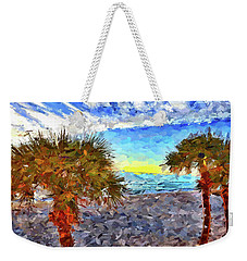 Sarasota Beach Florida Weekender Tote Bag