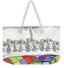 Sardines Weekender Tote Bag