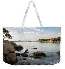 Sardinian Coast Weekender Tote Bag by Yuri Santin