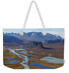 Sarek Nationalpark Weekender Tote Bag