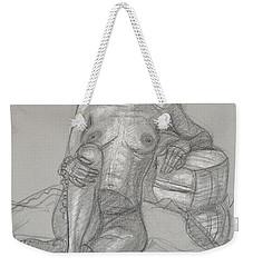 Sariya Reclining 2 Weekender Tote Bag