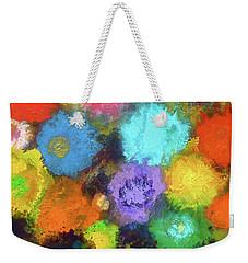 Sasha's Special Floral Garden. Weekender Tote Bag