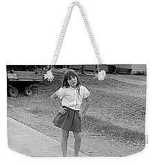 Sassy Girl, 1971 Weekender Tote Bag