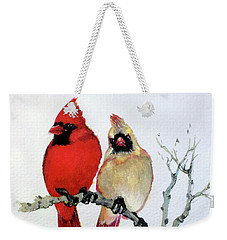 Sassy Pair Weekender Tote Bag