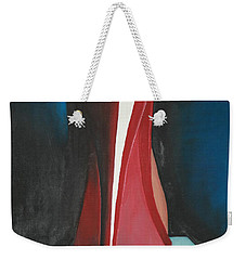 Sassy Shoe Weekender Tote Bag by Jacqueline Athmann