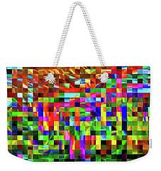 Satin Tiles Weekender Tote Bag
