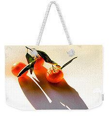 Satsumas Weekender Tote Bag by Tracy Male