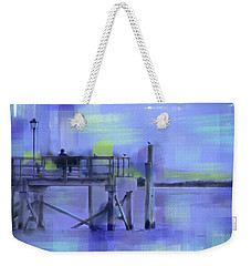 Saturday Idyll Weekender Tote Bag