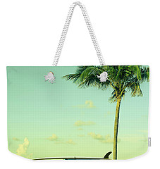 Weekender Tote Bag featuring the photograph Saturday by Laura Fasulo