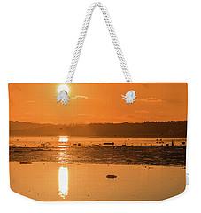 Saturday Morning Along The Estuary Pano Weekender Tote Bag