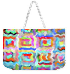 Saturday Quilting Muse Weekender Tote Bag by Gwyn Newcombe