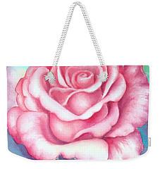 Saturday Rose Weekender Tote Bag