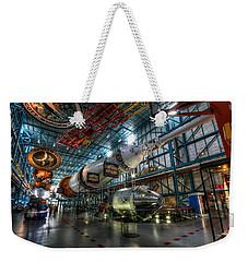 Saturn 5 Weekender Tote Bag