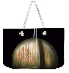Saturn Rising Weekender Tote Bag