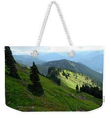 Sauk Mountain Hillside Weekender Tote Bag