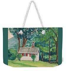 Sauna At Murray Hollow Weekender Tote Bag