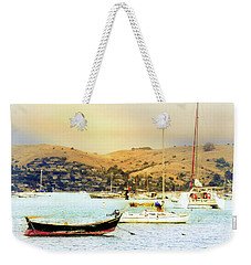 Sausalito Sailboats Weekender Tote Bag