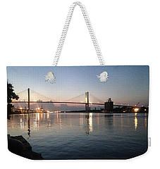 Savannah Bridge Evening  Weekender Tote Bag