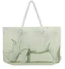 Save A Rhino Weekender Tote Bag