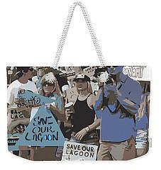 Save Our Lagoon Weekender Tote Bag