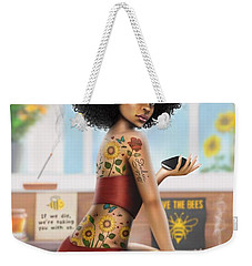 Saving The Bees Weekender Tote Bag