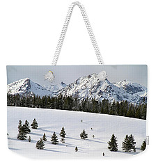 Sawtooth Wilderness Central Idaho Weekender Tote Bag