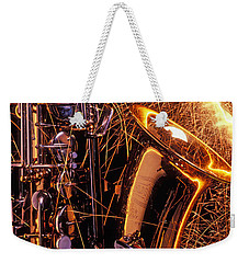 Sax With Sparks Weekender Tote Bag by Garry Gay