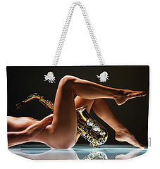 Saxilicious Weekender Tote Bag