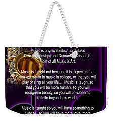 Saxophone Photograph Why Music For T-shirts Posters 4819.02 Weekender Tote Bag