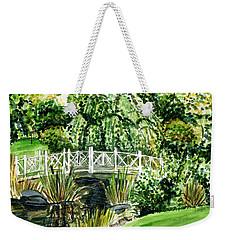 Sayen Bridge Weekender Tote Bag by Clara Sue Beym