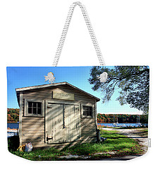 Scalloptown Yacht Club Weekender Tote Bag