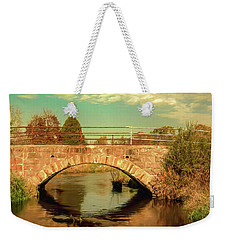 Scandinavia Stone Bridge 1 Weekender Tote Bag by Trey Foerster