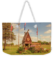 Scandy Memorial Park Weekender Tote Bag by Trey Foerster